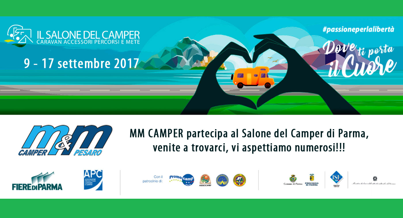 Mm camper salone del camper fiere di parma 2017 mm for Fiere di parma 2017