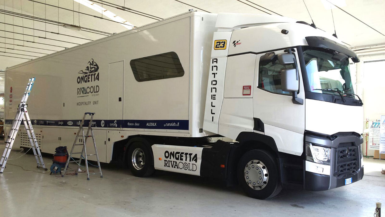 installazione antenna sat camion hospitality mm camper ForCamion Hospitality Usati