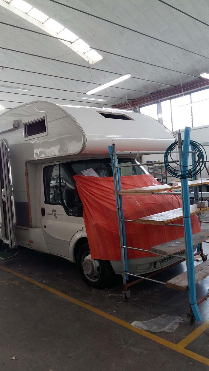 riparazione-mansarda5-infiltrazione-camper-mm-camper-pesaro