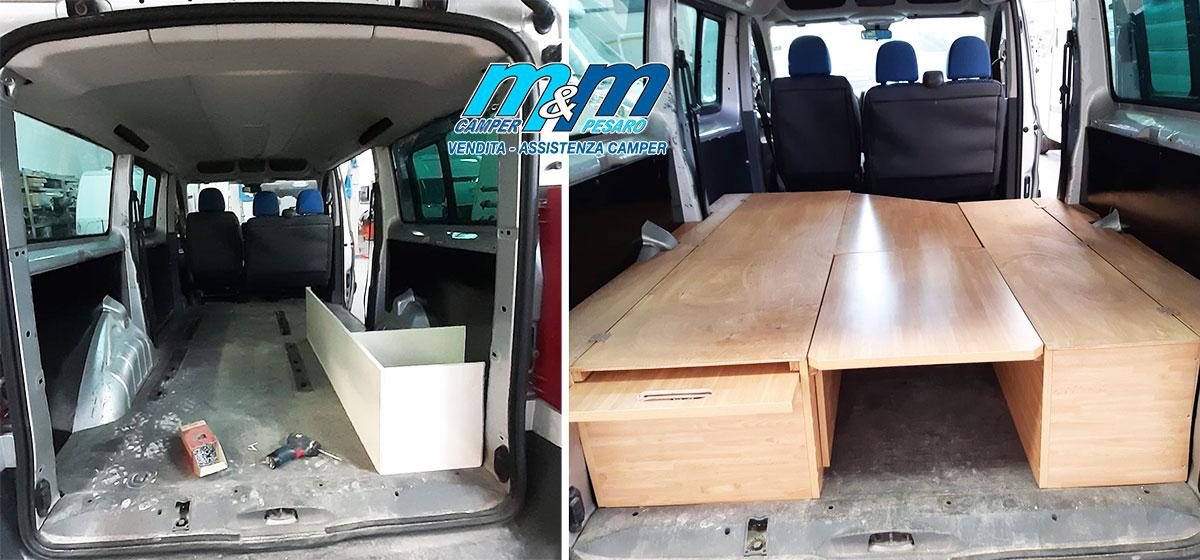 installazione-panche-furgonato